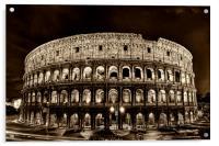 Colosseum, Acrylic Print