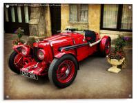 Rare Aston Martin., Acrylic Print