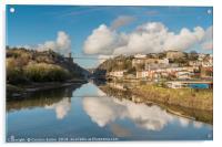 Clifton Suspension Bridge Reflected, Acrylic Print