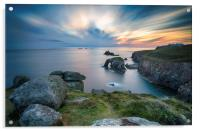 Lands End in Cornwall, Acrylic Print