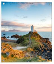 The Anglesey Coast, Acrylic Print