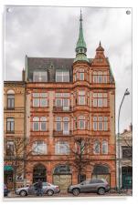 Helsingborg Sandstone Building Facade, Acrylic Print