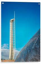 Observation Tower in Glasgow, Acrylic Print