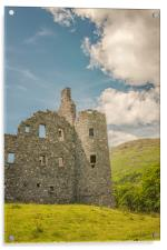 Kilchurn Castle Ruin, Acrylic Print