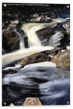Waterfall in Glen Orchy, Acrylic Print