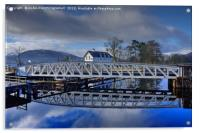 Caledonian Canal, Corpach, Scotland, Acrylic Print