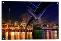 City Of London, Acrylic Print