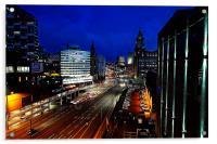Into The City, Acrylic Print
