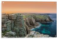 Lands End at Dawn, Acrylic Print