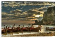 Ton Sai Evening, Acrylic Print