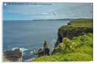 Handa Island Cliff View, Acrylic Print