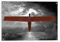 Angel of the North, Acrylic Print