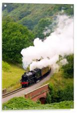 Yorkshire Coast Express, Acrylic Print