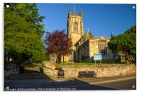 All Saints Parish Church, Great Driffield, Acrylic Print