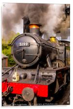 GWR Steam Engine 5199, Acrylic Print