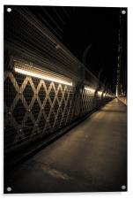 Clifton suspension bridge footpath, Acrylic Print