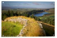 Hadrian's Wall II, Acrylic Print
