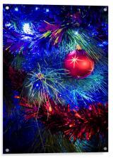 Glittering Christmas, Acrylic Print