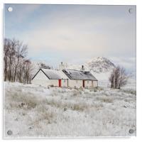 Black Rock Cottage, Acrylic Print