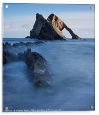 Bow Fiddle Rock, Acrylic Print