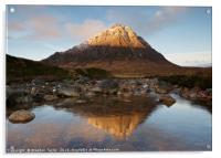 Sunrise in Glencoe, Acrylic Print