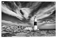 Windy Skies., Acrylic Print
