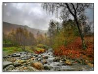 """""""Misty morning in the Lake District"""", Acrylic Print"""