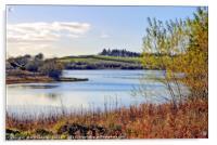 """Autumn at Loch Linden"", Acrylic Print"