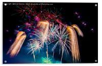 Fireworks!, Acrylic Print