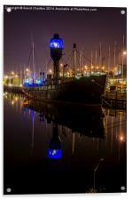 Spurn Lightship , Acrylic Print