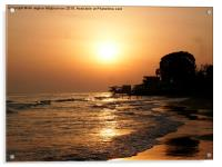 Sunrise , Acrylic Print