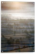 First Light on the Hope Valley, Acrylic Print