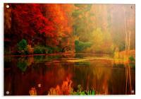 Autumn Reflected, Acrylic Print