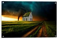 Stormy weather , Acrylic Print