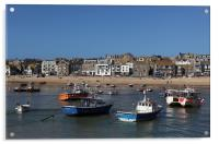 St Ives Harbour, Acrylic Print