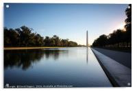 Morning at the Washington , Acrylic Print