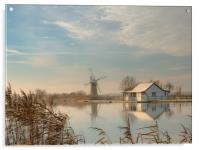 Mill House Morning, Acrylic Print
