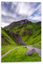 Winnats Pass, Acrylic Print