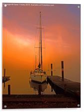Sunrise at Windermere, Acrylic Print
