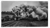 Flying Scotsman leaving Grosmont, Acrylic Print