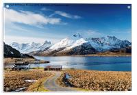 Stromsnes, Lofoten Isles, Acrylic Print
