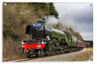 The Flying Scotsman In Newtondale, Acrylic Print