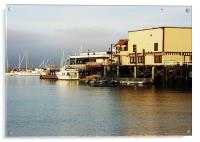 The Docks, Acrylic Print