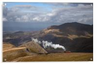 Snowdon Mountain Railway, Acrylic Print