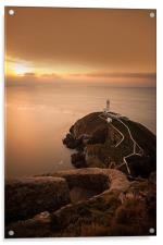 South Stack Lighthouse, Acrylic Print