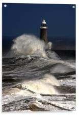Tynemouth Pier, Acrylic Print