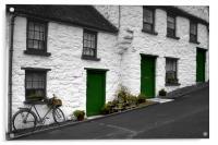 Glenoe Village, Acrylic Print