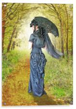 A woodland stroll, Acrylic Print