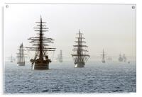 Talls ships take their place at the International , Acrylic Print