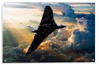 2015 The Last Flight of XH558, Acrylic Print